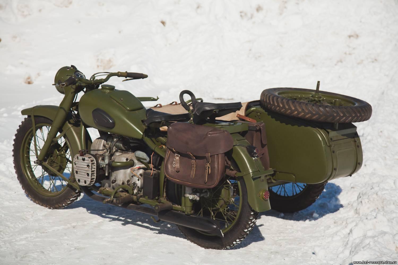 Мотоцикл Урал военный с консервации #7